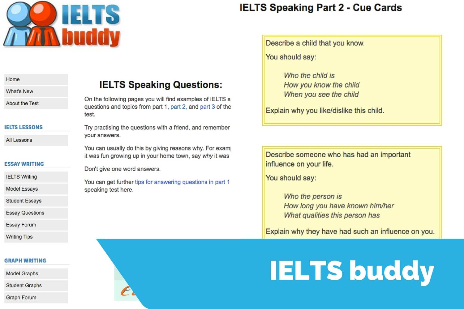 ieltsbuddy speaking sample questions