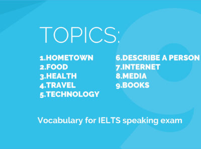 IELTS eBook: 9 Topics to Prepare for Speaking Exam